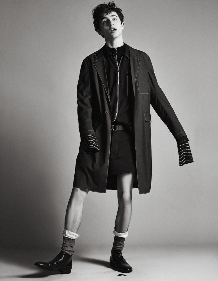 Timothée Chalamet Stars in W Magazine Shoot