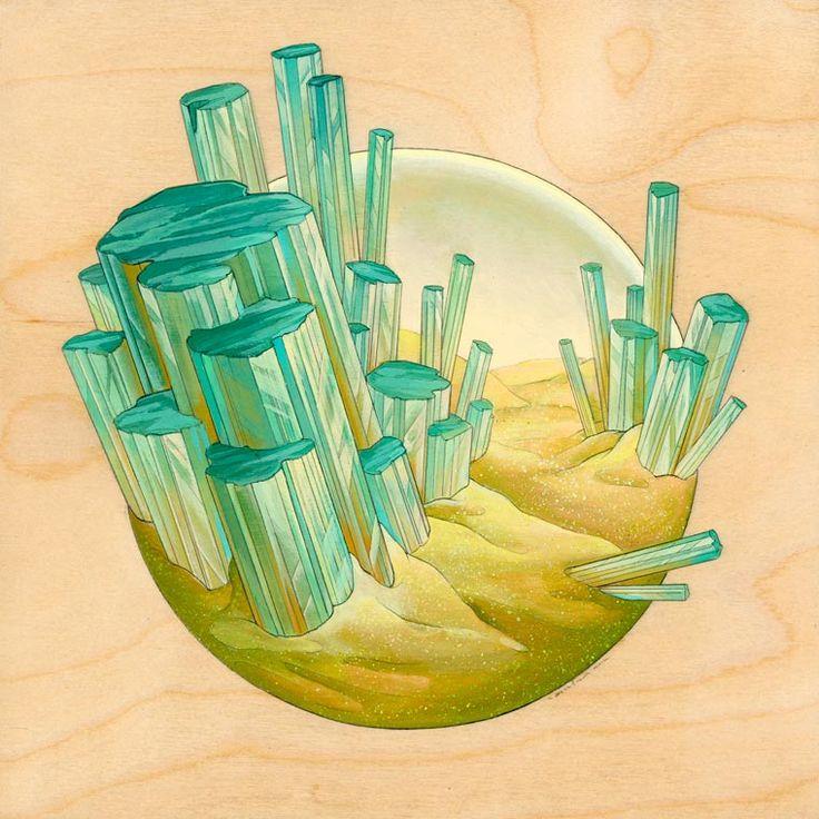 Voici les peintures de l'artiste américaineNicole Gustafsson, qui nous…