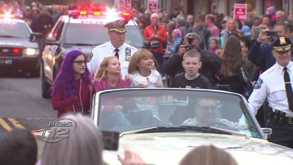 """Thousands of people lined the streets in Suffern on Saturday for a parade honoring """"America's Got Talent"""" winner Grace VanderWaal. The village planned the event"""