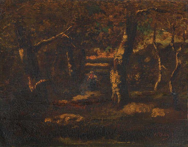 Virgilio Narcisso Diaz De La Peña - FALZUM, Lesní krajina, [4. čtvrtina 19. století / 1. třetina 20. století]