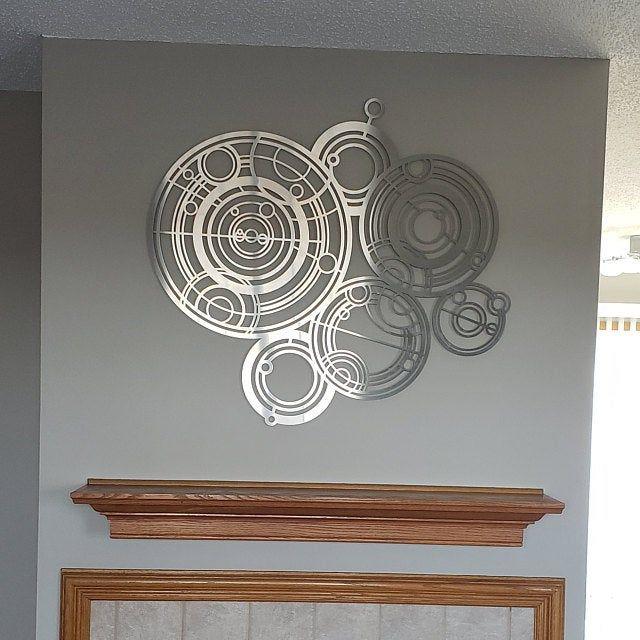 Lotus Mandala Large Metal Wall Art Sculpture Mandala Wall Etsy