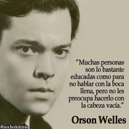 frases orson welles