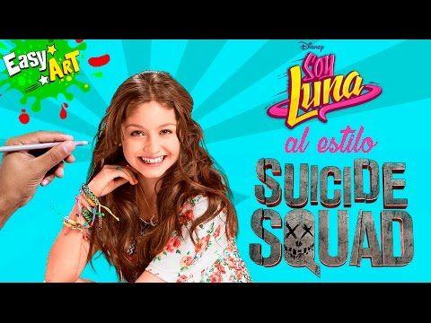 Dibujos│Cómo Dibujar Soy Luna estilo Harley Quinn│How to draw soy luna style Harley Quinn  Videos  - YouTube
