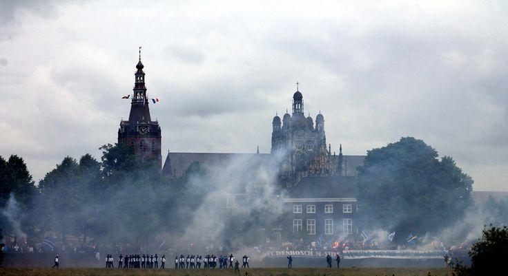 Fc Den Bosch season kick Off, 's-Hertogenbosch tijdens een zondagochtend.