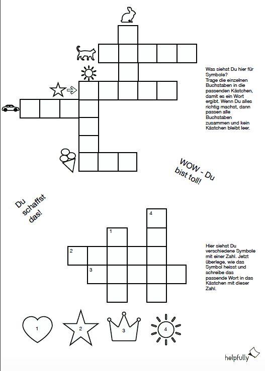 Kreuzworträtsel Allgemeinwissen