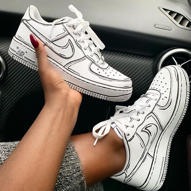 Pinterest Jay Ebony White Nike Shoes Black Nike Shoes White Nike Shoes Womens