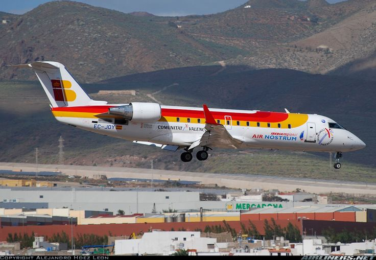 Bombardier CRJ-200ER (CL-600-2B19) - Air Nostrum (Iberia Regional) | Aviation Photo #1429597 | Airliners.net