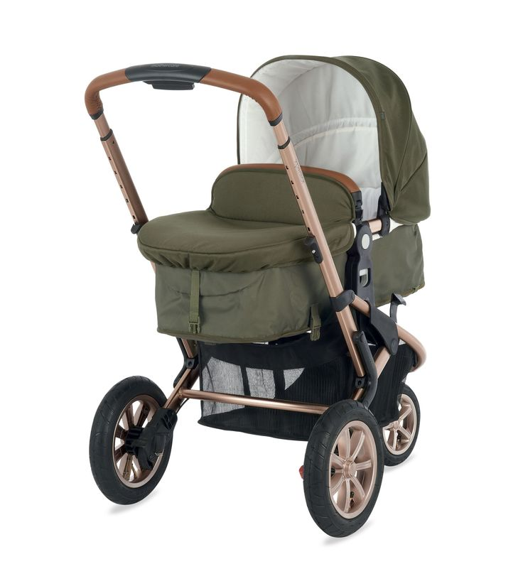 Mothercare Xpedior Pram and Pushchair Travel System - Khaki Special Edition