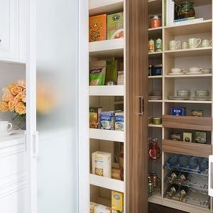 Pull Out Pantry Cabinets, Contemporary, kitchen, Transform Home