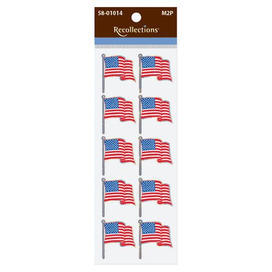 American Flag Stickers by Recollections™
