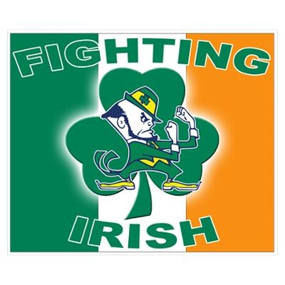 fighting Irish! Can't wait till football!!!!