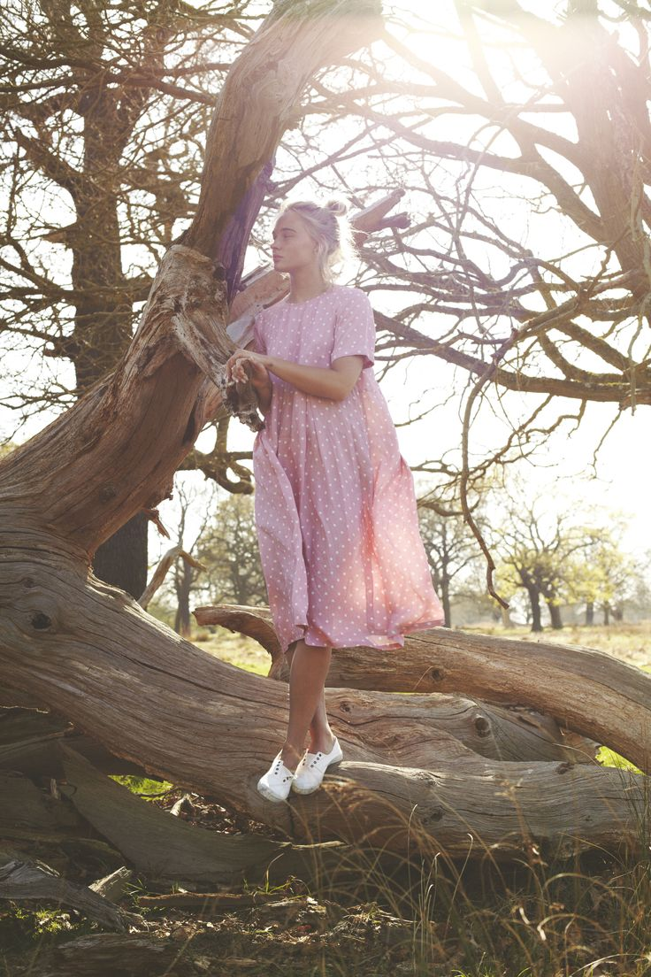 Cabbages & Roses Pink Hotch Potch Dress