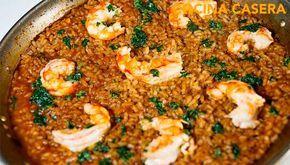 Arroz con camarones Un plato de arroz fácil de preparar pero no por ello falto de exquisitez. Vamos a ver como con muy poquito el arroz nos devuelve unos momentos llenos de sa