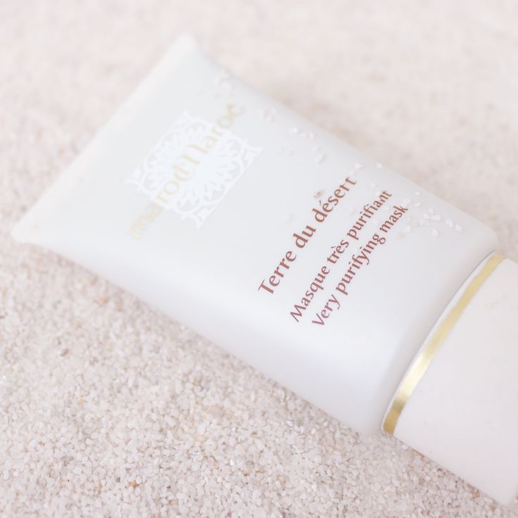 """Rediscover purity and light thanks to the very purifying mask """"Terre du Désert"""" #marocMaroc... nurturing and cleansing earth combined with natural extracts to take care of your skin radiance and purity."""
