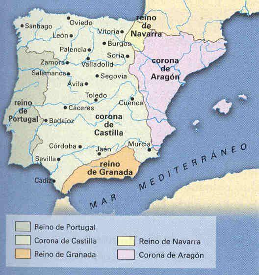 La Reconquista a mediados del siglo XIII