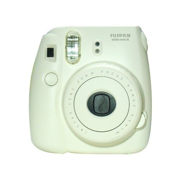 New Model Fuji Instax 8 White ($85) ❤ liked on Polyvore featuring fillers, camera, accessories, decorations and electronics