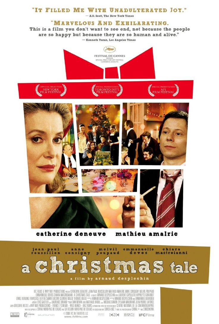 A Christmas Tale (Arnaud Desplechin, 2008) Un conte de Noël (original title) ☆☆
