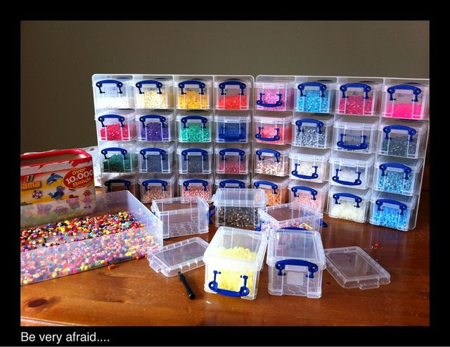 Hama Beads. available from hobbycraft. age 5+