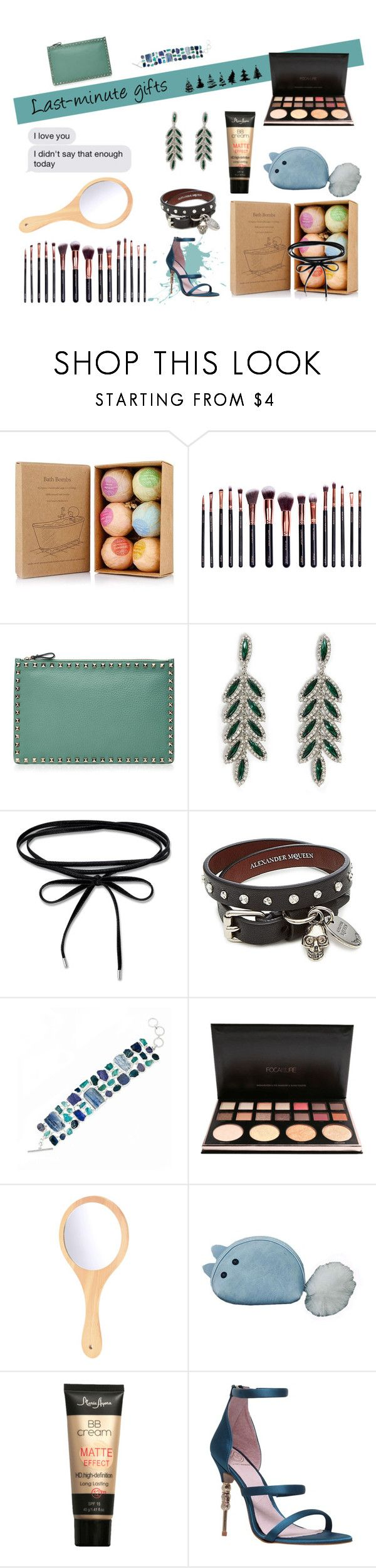 """""""Gamiss"""" by annab-poe ❤ liked on Polyvore featuring M.O.T.D Cosmetics, Valentino, Forever 21, Alexander McQueen, Poppy Jewellery, KG Kurt Geiger, contest, gifts and gamiss"""