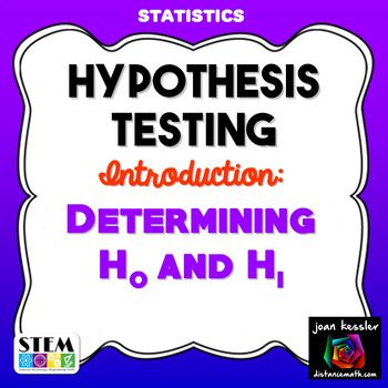 null hypothesis example problem statistics