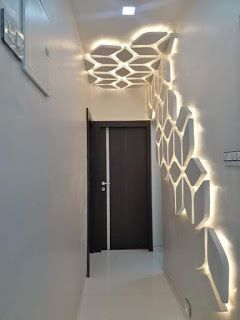 مدونة ليون ت صاميم مداخل و ممرات بشكل ج ميل وأنيق جبس ممرا Ceiling Design Modern Ceiling Design Living Room Interior Ceiling Design