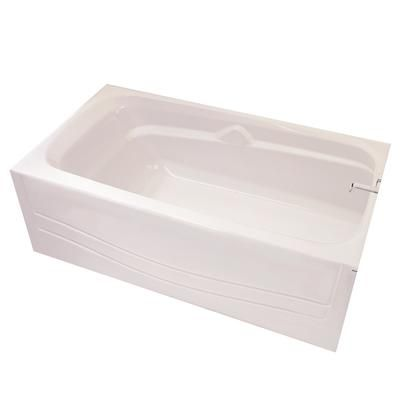 Maax bath avenue tub right hand drain 105927 000 002 for Deep alcove bathtubs