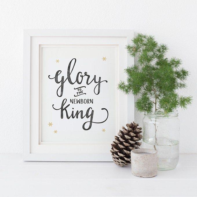 Christmascard Countdown seen on HappyMakersBlog.com ~ Illustration : Liefprints