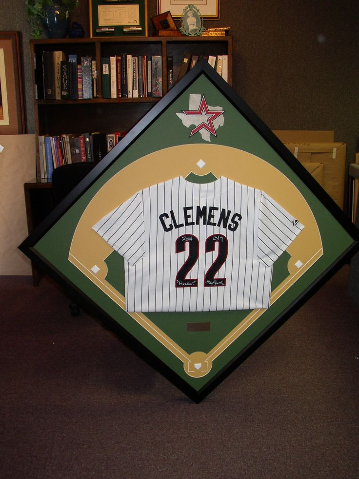 Check Out This Project Of Ours A Custom Framed Clemens