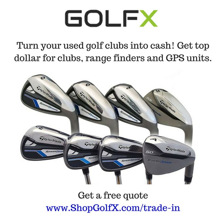 Turn your used #golfclubs into cash! Get top dollar for clubs, range finders and GPS units #golfing #GolfSwing