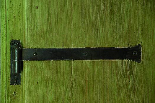 bandella in ferro battuto per porte