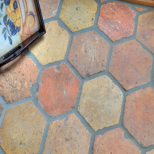terracotta floor tile at Thomas Brick Company