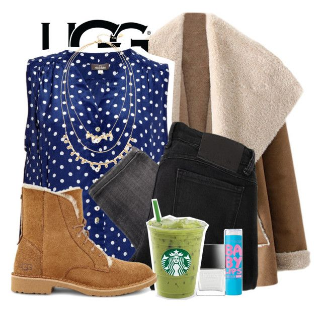 """""""The New Classics With UGG: Contest Entry"""" by candysweetieglam ❤ liked on Polyvore featuring UGG, Mercy Delta, Adia Kibur, Religion Clothing and Butter London"""