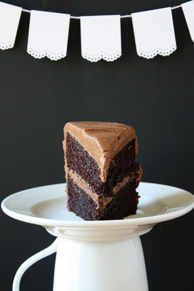 I should have known that Ina Garten had the best chocolate cake recipe all along; she is, after all, a goddess. There have been a few times in the past when I thought I had found The Perfect chocol...