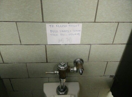 A short toilet manual
