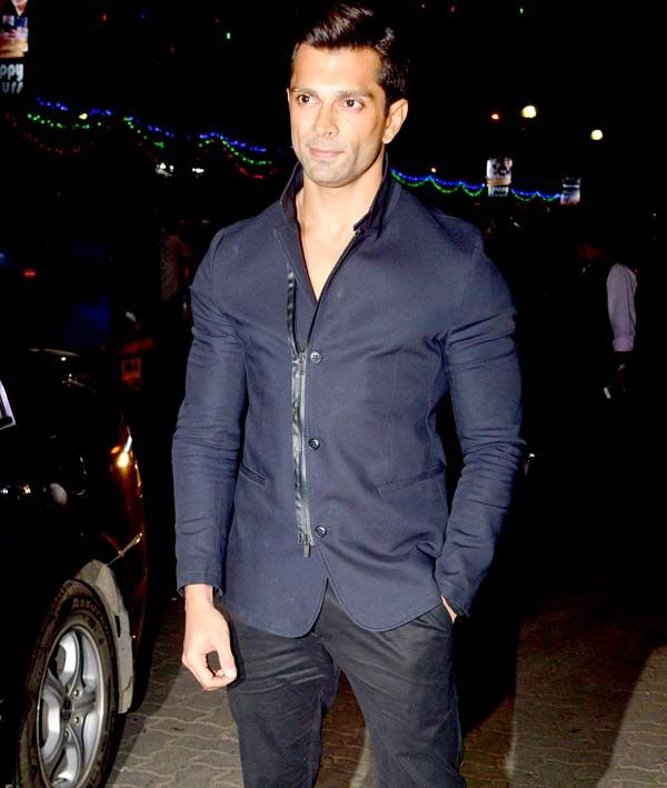 Karan Singh Grover at 'Alone' music release bash. #Bollywood #Fashion #Style #Handsome