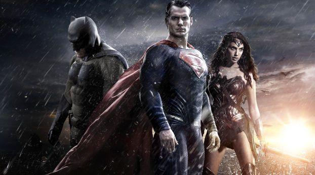 Batman Vs Superman Photoshoot