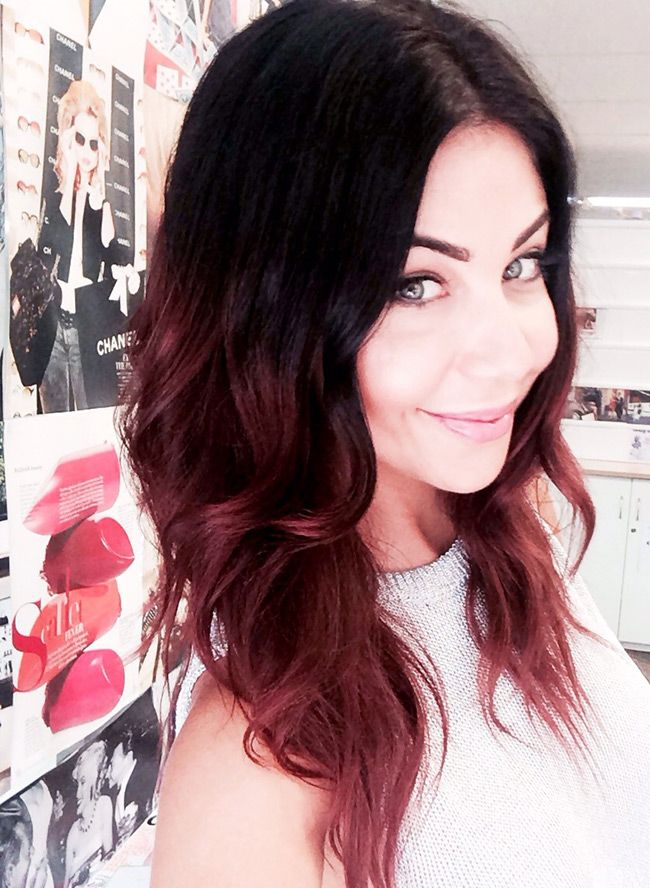 Hair trend: ruby ombre :: Cosmopolitan Magazine Mobile