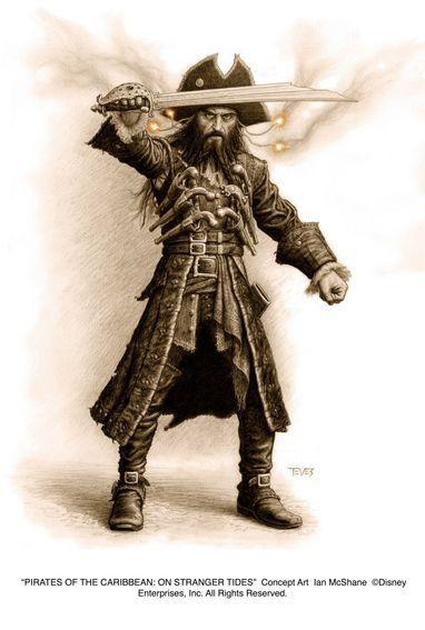 Pirates of the Caribbean: On Stranger Tides: Concept art - Ian ...