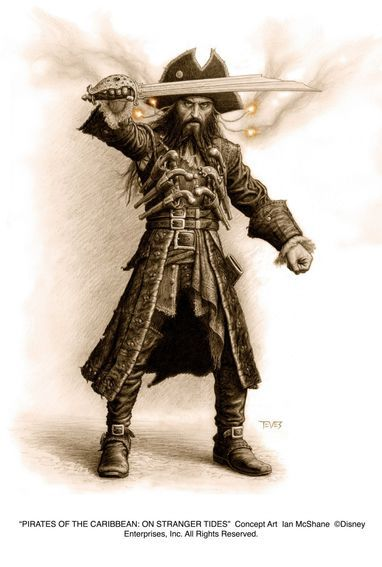 Pirates of the Caribbean: On Stranger Tides: Concept art - Ian ...