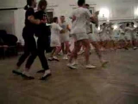 Dance training at Jozef Pilsudki University of Physical Education in Warsaw