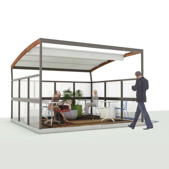 Street, de ideale oplossing voor buitenruimtes van lounge bars om te zetten in bruikbare, functionele en stijlvolle gebieden.