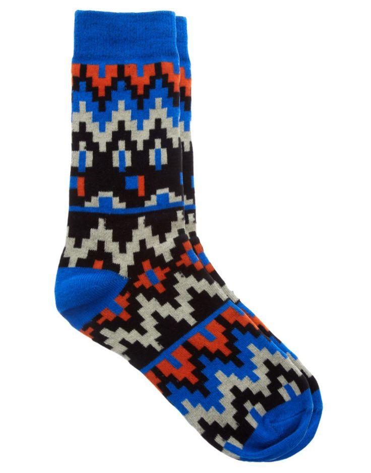 Humor Footi Aztec Socks
