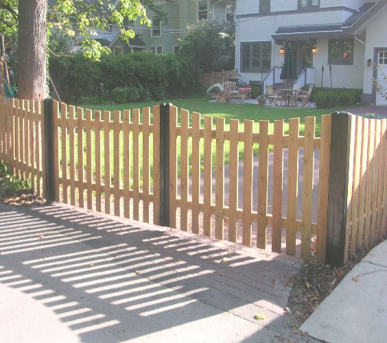 Picket Fence Driveway Gate Gate Pinterest Wealth
