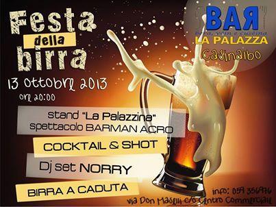 """""""Festa Della Birra"""" Giochi per bambini, stand gastronomici , Birra a volontà, Musica e tanta gnocca. - Oct 12 2013  8:00PM http://www.event2me.com/5855782"""
