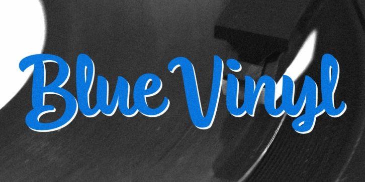 Blue Vinyl Font Download Blue Vinyl Download Fonts Beautiful Script Fonts