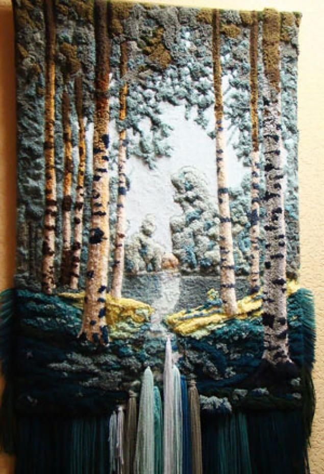 Volumetric tapestry! - Fair Masters - handmade, handmade
