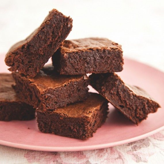 Taken from the Cake Angels cookbook, these moreish Chocolate Brownies are free-from gluten, wheat and dairy.