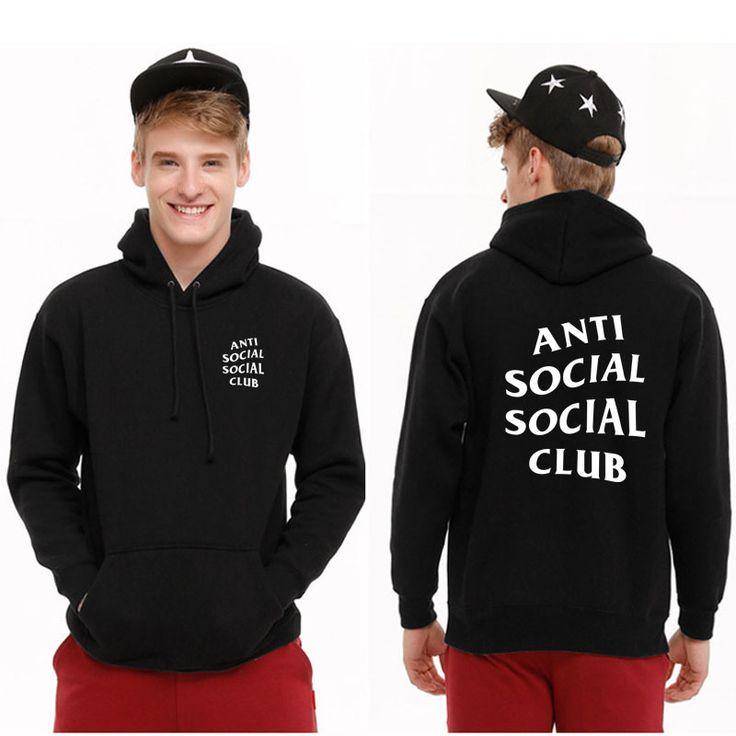 ANTI SOCIAL CLUB Fleece Hoodies 2017 Brand Women Men 1:1 High Quality Sweatshirt Tracksuit ASSC Male Camouflage Hoody Thin Coat //Price: $27.13 & FREE Shipping //     #hashtag1