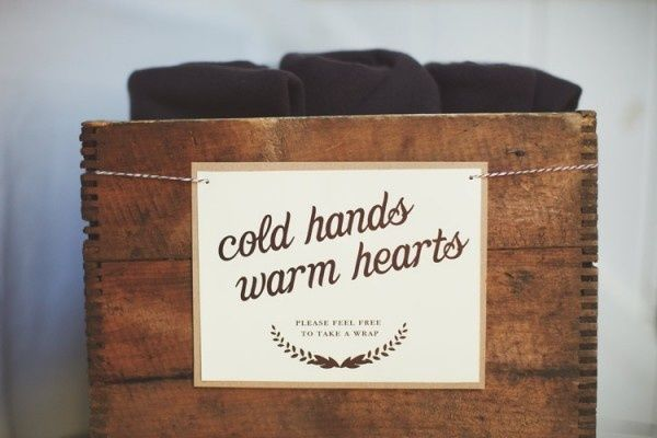 Don't forget to keep guests warm at your winter wedding with these 4 easy tips and tricks! - Wedding Party