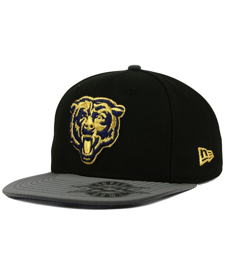 New Era Chicago Bears Super Bowl 50 Edge 9FIFTY Snapback Cap